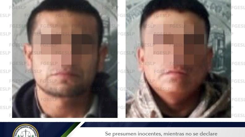 FGE CAPTURA A DOS HERMANOS SEÑALADOS DE SECUESTRO EN SLP