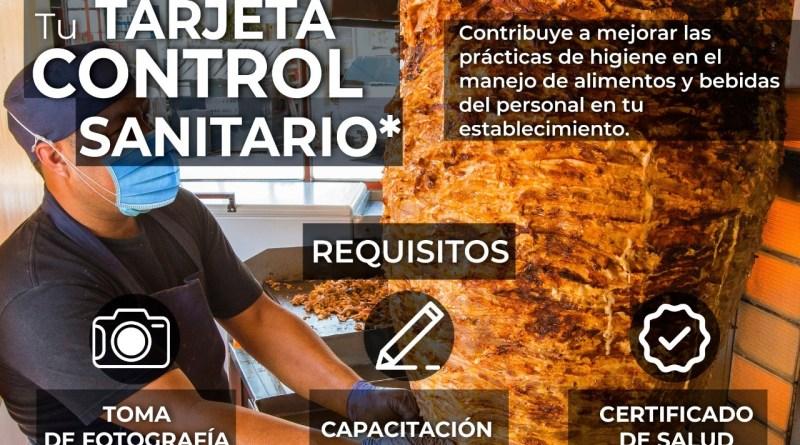PROMUEVE COEPRIS TARJETA DE CONTROL SANITARIO