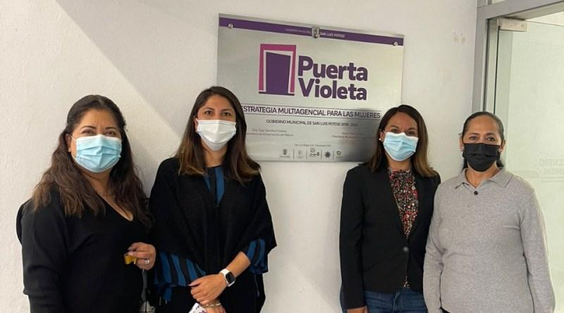 Nueva titular de Puerta Violeta trabajará arduamente en favor de las víctimas de violencia