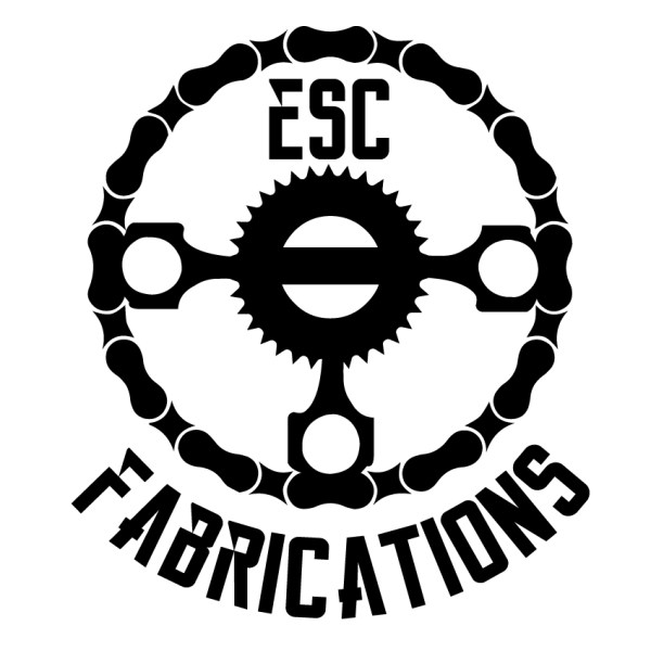 ESC Fabrications Logo Decal