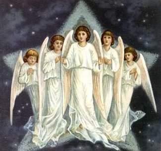 Les anges du Ciel.