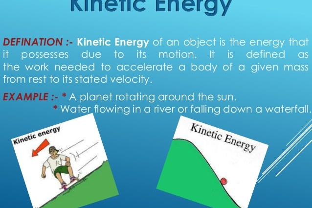 how to find kinetic energy with mass and speed