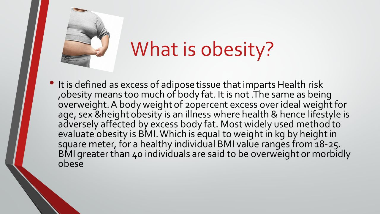 What is Obesity?-Definition, Causes, Effects & Prevents ...