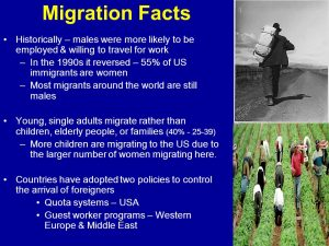 Migration facts
