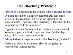 Some nuisance includes