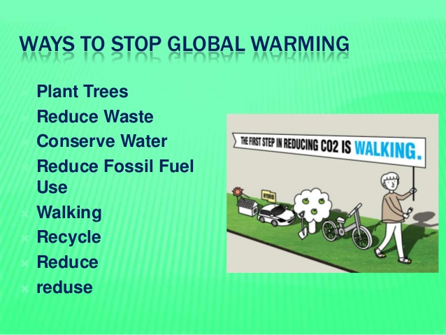 Pros And Cons Of Fossil Fuels >> Steps to stop global warming - Eschool