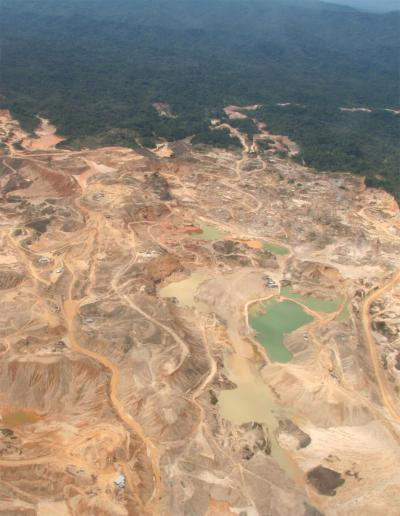 Gold Mine in Amazon, Rhett Butler photo