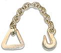 """2"""" Chain Anchor, 18"""" long 3705-2"""