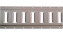 Horizontal, Gray Powder Coat, 10' length 43002