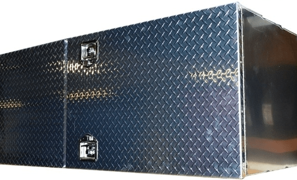 "Side Box 60""x24""x24"" - Diamond Plate"