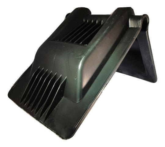 """pcp plastic corner protector hd black 4"""" webbing"""