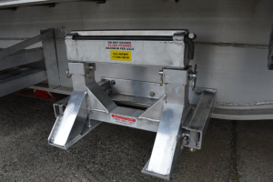hd ramp stand hanger installed