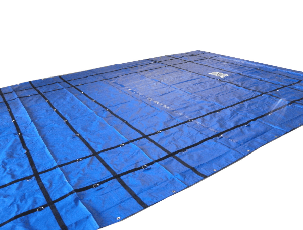 Machinery Tarp Blue - 20x24 - 18oz