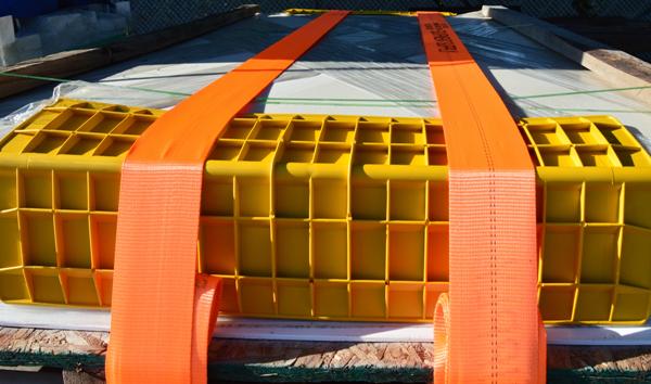 "45"" v board yellow hd plastic"