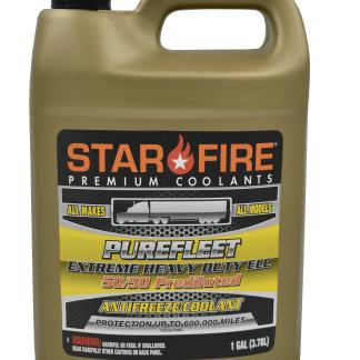 STARFIRE PUREFLEET EXTREME HEAVY DUTY ELC 5050 ANTIFREEZE COOLANT - 1 gal