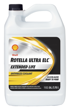 Shell rotella ultra elc extended life antifreeze coolant