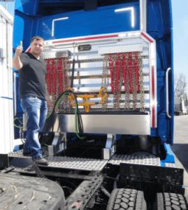 happy customer esc cab rack sturdy lite full equipment