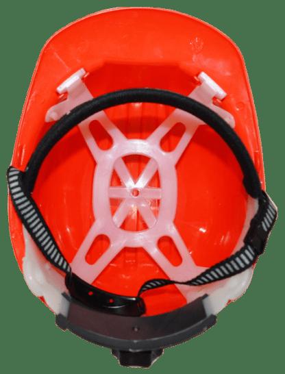 ESC Red Safety Helmet inside view web