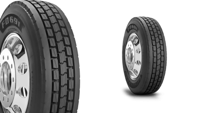 FIRESTONE FD691 TIRE