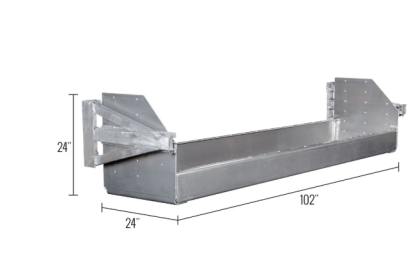 dunnage 24inch dimensions