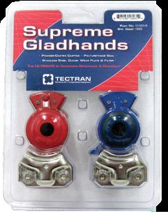 Supreme Powder Coated Gladhands Part #1012ES-R