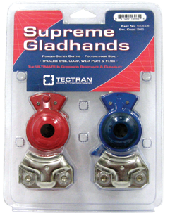 Supreme Powder Coated Gladhands Part #1012ES-R