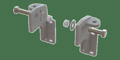 EX-GUARD MOUNTING BRACKET XG-04MC - Mack CH Set-Back ('04 – Current)