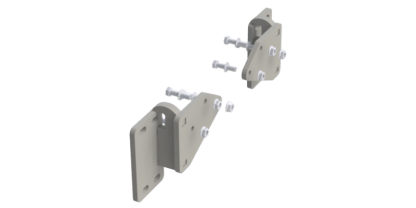 EX-GUARD MOUNTING BRACKET XG-16F114SB* - *SPECIAL ORDER Freightliner 114 Set-Back with no Tow Hook Receivers, Freightliner 122 SD Set-Back with no Tow Hook Receivers