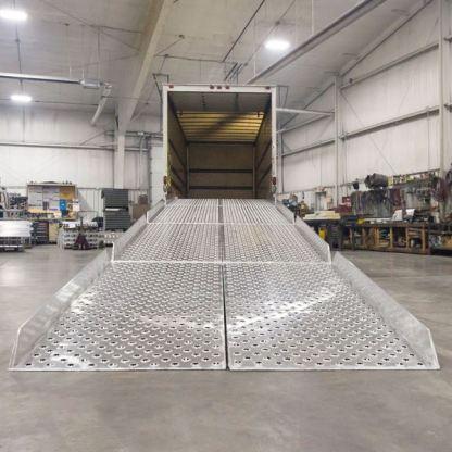 Aluminum Portable Modular Yard Ramp System