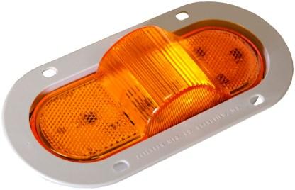 356AF, 4 LIGHT, MIDTURN, LED, PETERSON MANUFACTURING