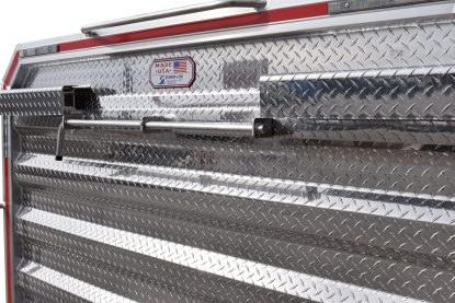 6886DHDS DELUXE CAB RACK, DROP SIDES, COIL RACK HOLDER CLOSE UP