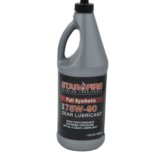 STARFIRE FULL SYNTHETIC 75W90 GEAR LUBRICANT