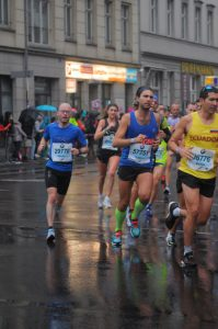 Maratona di Berlino - Simone Luciani
