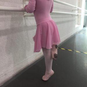 Metodologia no ensino da dança em crianças. Exercícios de panturrilha