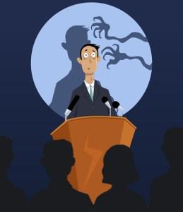 Mais medo de falar em público do que medo da morte