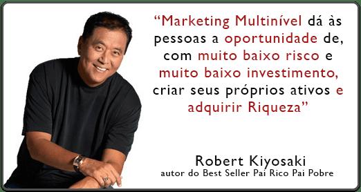 marketing multinível robert Kiyosaki