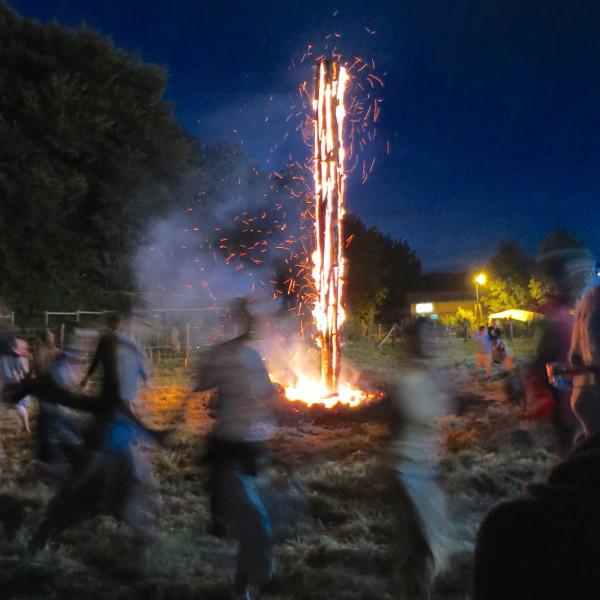 Halha ou feu de la Saint-Jean gascon