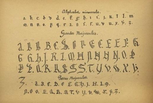Le Livre d'Or de Bayonne - Alphabet