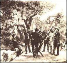 Frédéric Mistral anime la réunion du Félibrige de 1854