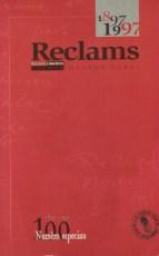 Reclams - l'anthologie littéraire des 100 ans