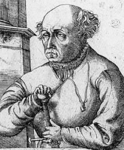 Paracelse, un des maîtres de Joseph de Chesne