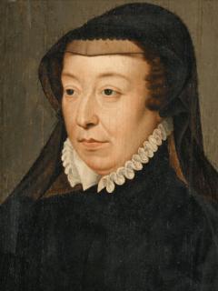Catherine de Médicis à la tête du parti catholique