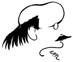 Edmond Rostand par Sem