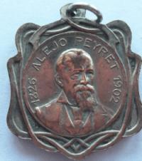 Médaille Alejo Peyret du Colegio de Urugauay a Concepción del Uruguay
