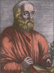 Ausone, vue d'artiste (XVIIe siècle)