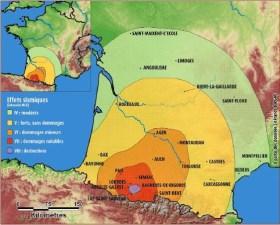 Tèrratrems dans les Pyrénées : La propagation du tèrratrem du 21 juin 1620