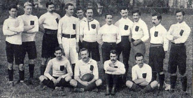 Le Stade Bordelais vainqueur du championat de France 1899