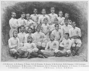 Rugby - The first English Team (1871)