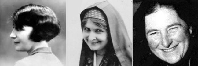 les paroles de femmes du 20è siècle : Louise Paulin - Philadelphe de Gerde - Marcelle Delpastre
