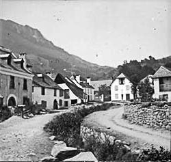 Arrens en août 1906 (Fonds Trubat)